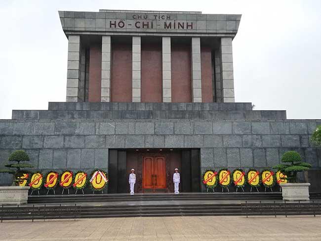 Hanoi. Mausoleo de Ho Chi Minh