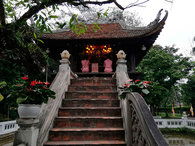 Pagoda de una sola columna. Hanoi