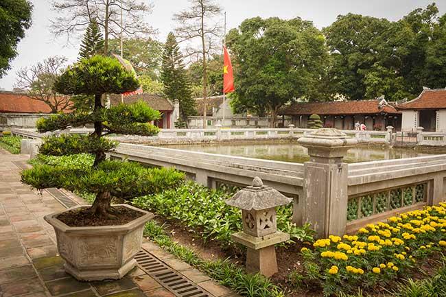 Hanoi. Templo de la literatura. Pozo de la claridad celestial