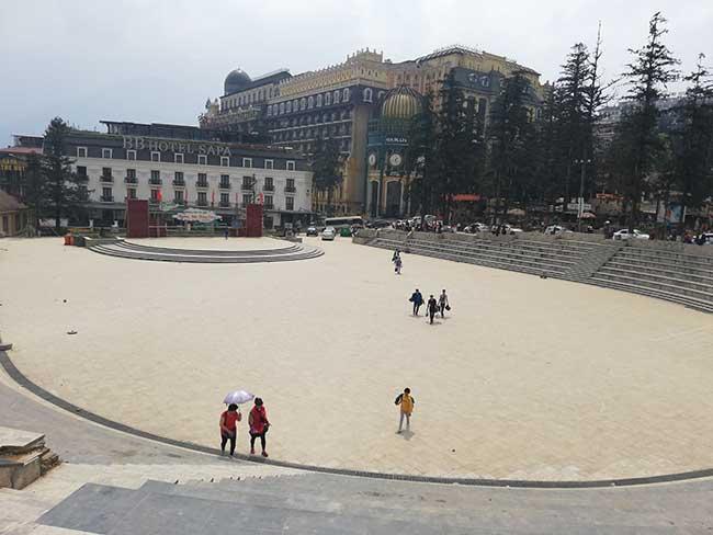 Plaza de Sapa