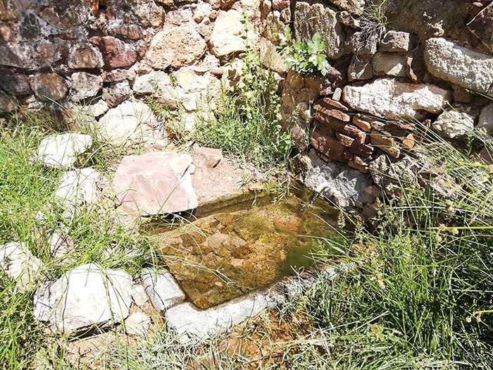 Fuente junto al convento de San Cristobal