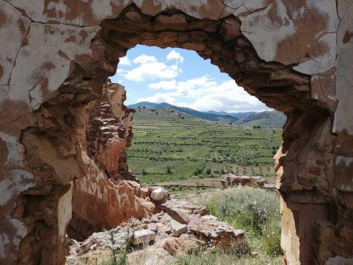 La vega desde la ventana de la iglesia del convento de San Cristobal