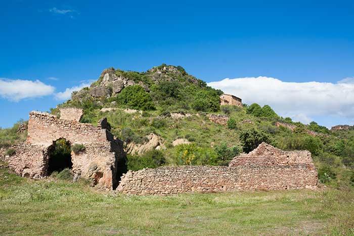 Ruinas del convento de San Cristobal. Alpartir