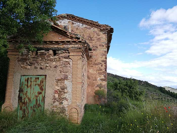 Ermita de la Virgen del Pilar. Convento de San Cristobal.