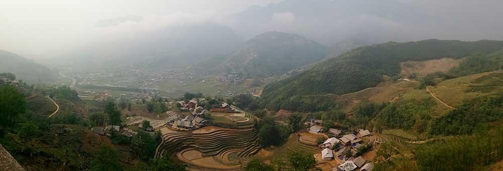 Panorámica del valle Lao Chai