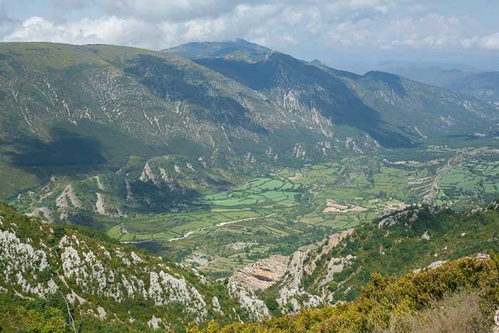 Vistas subiendo al pico Peiró