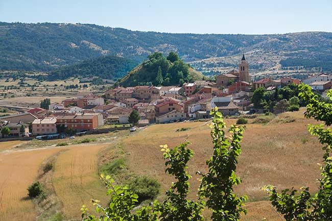 Ruta de las Banderas. Frías de Albarracín.