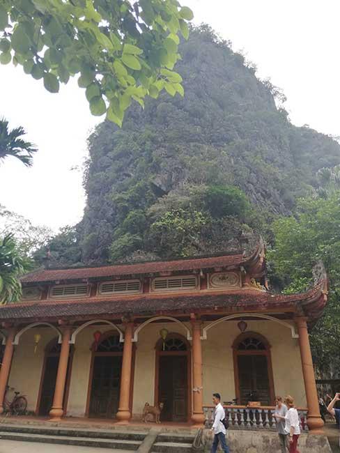 Pagoda Ha de la Pagoda Bich Dong